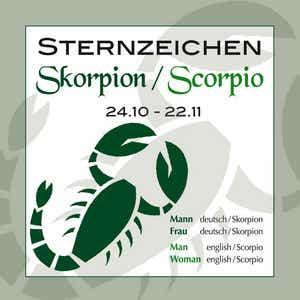 Skorpionfrau und steinbockmann